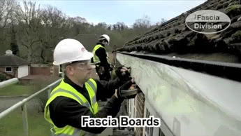 Fitting UPVC Fascias