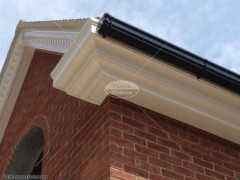 3 tier decoative UPVC fascia