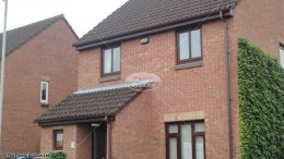 UPVC rosewood fascia soffits brown round guttering