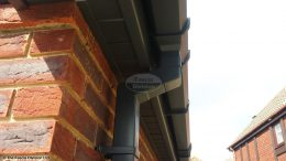 Grey guttering, Grey fascias and soffits
