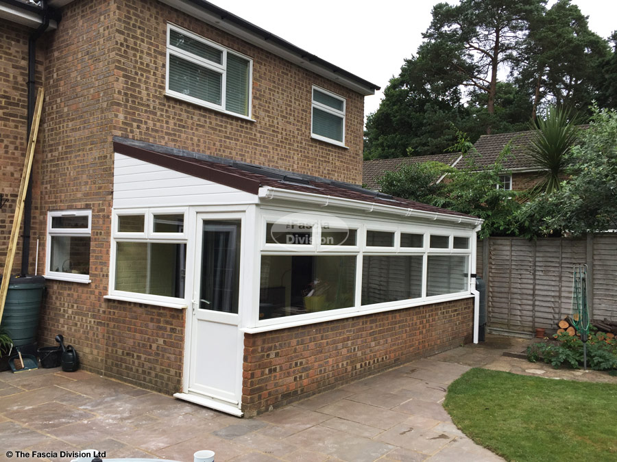 Replace Roof On A Lean To Conservatory With Equinox Roof