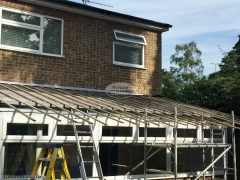 Lean to conservatory roof replacement with Equinox System