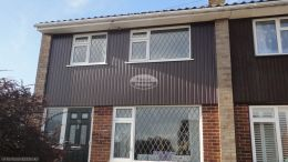 Cladding weather board rosewood full replacement Reading