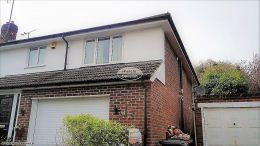 soffits guttering halfround black downpipe rooftrim roofing rooftrim fascias Reading