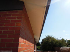 White ash fascia and soffit installation Newbury