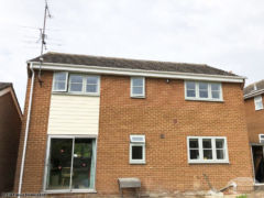Fascia, soffit, guttering and Hardieplank cladding installation in Reading