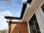 UPVC fascia, soffit and guttering installation in Lower Earley